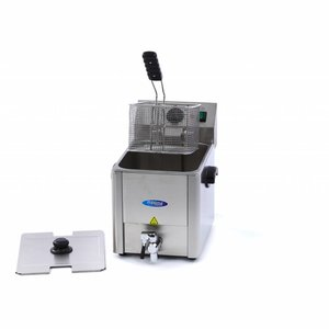Maxima Electric Fryer 1 x 8L with Faucet