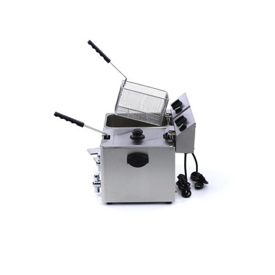 Maxima Electric Fryer 2 x 8L with Faucet