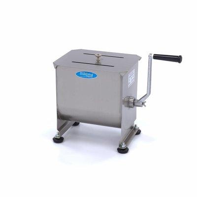 Maxima Handmatige Vleesmixer / Vleesmenger 10 Liter