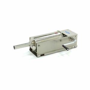 Maxima Worstenvuller 5L - Horizontaal - RVS - 4 Vulbuizen