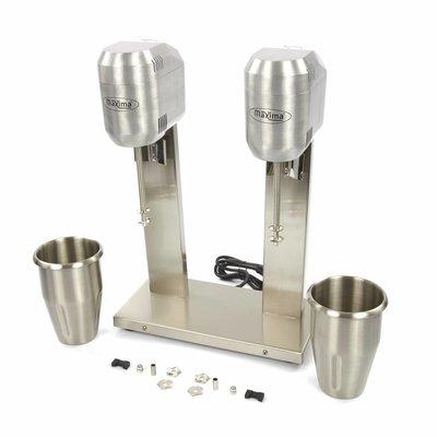 Maxima Getränkemixer Doppel Tassen - 2 Geschwindigkeit