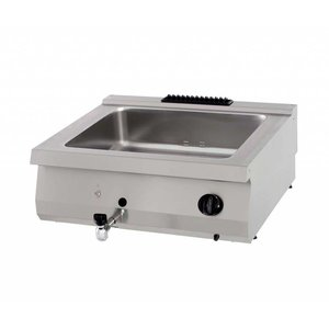 Maxima Heavy Duty Bain Marie  - Double - Gas
