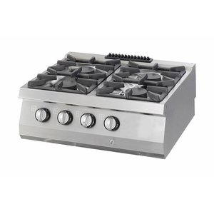 Maxima Heavy Duty Cooker - 4 Burners - Gas