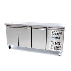 Maxima Kühltisch / Gekühlte Aufsatz WTC - 3 Türen