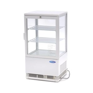 Maxima Refrigerated display 58L White