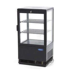 Maxima Refrigerated display 58L Black