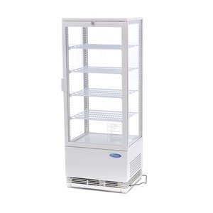 Maxima Refrigerated display 98L White