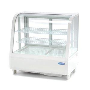 Maxima Refrigerated Showcase 100L White