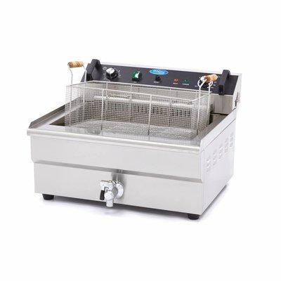 Maxima Elektrisch Fritteuse 1 x 30.0L mit Wasserhahn