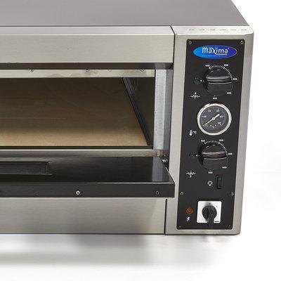Maxima Deluxe Pizza Oven 6 x 30 cm 400V