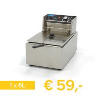 horeca elektrische friteuse 6 liter