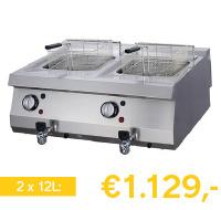 elektrische frituurpan 24 liter