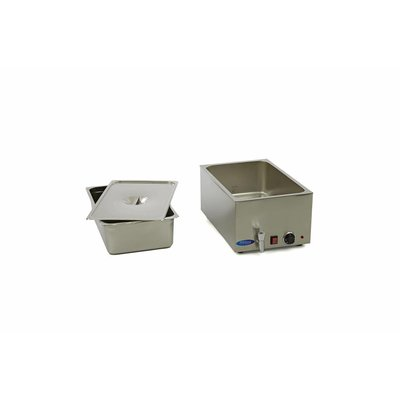 Maxima Bain Marie with Tap including 1 x 1/1 GN Set