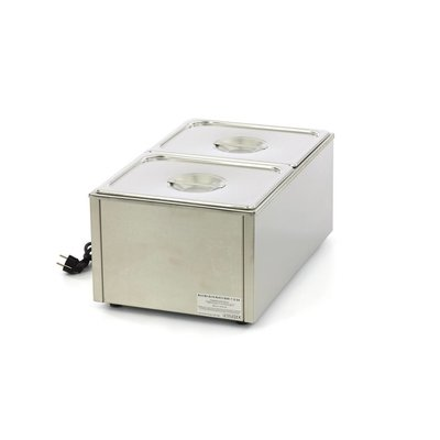 Maxima Bain Marie with Tap including 2 x 1/2 GN Set