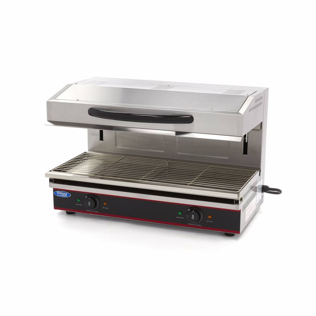 Maxima Deluxe Salamander Grill With Lift 790x320mm 5 6 Kw Maxima Holland