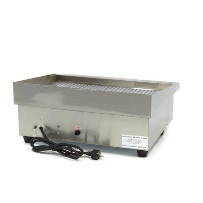Maxima Elektrische Horeca Grillplaat / Bakplaat MGRILL GR