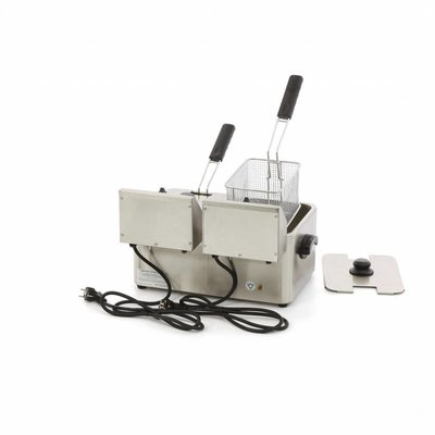 Maxima Electric Fryer 2 x 4L