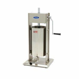 Maxima Sausage Filler 15L - Vertical - Stainless Steel - 4 Filling Tubes