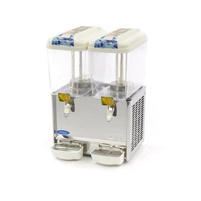Maxima Gekoelde Dranken / Drink Dispenser 2 x 18 Liter