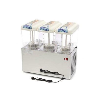 Maxima Gekoelde Dranken / Drink Dispenser 3 x 18 Liter