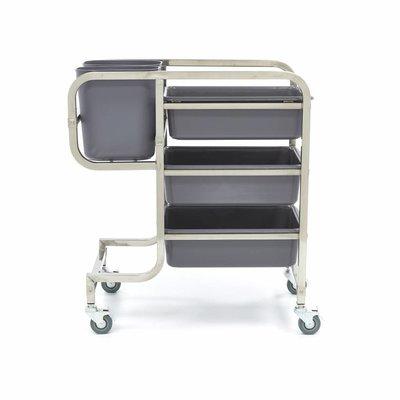 Maxima Afruimwagen Inclusief 5 Bakken