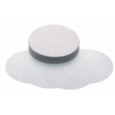 Maxima Hamburger Blätter 130 mm - Weiß Papier - 500 Stück