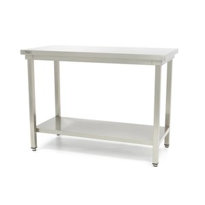Maxima Stainless Steel Workbench 'Deluxe' 1800 x 600 mm