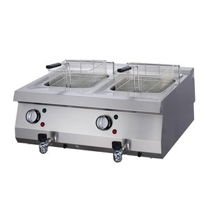 Maxima Heavy Duty Electric Fryer 2 x 12L with Faucet
