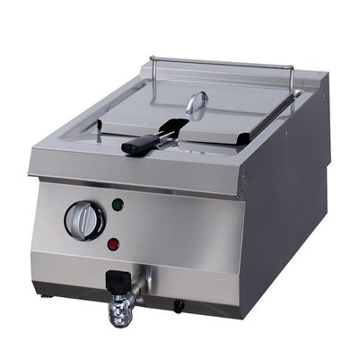 Maxima Heavy Duty Electric Fryer 1 x 12L with Faucet