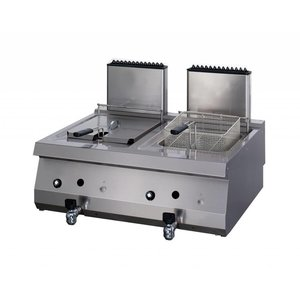 Maxima Heavy Duty Gas Fryer 2 x 12L with Faucet