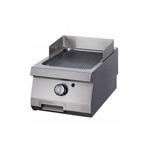 Maxima Heavy Duty Grill Rainurée - Single - Gas