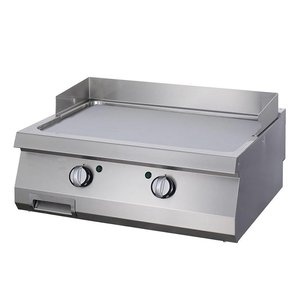 Maxima Heavy Duty Griddle Smooth Chrome - Double - Electric