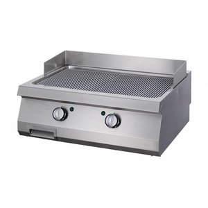 Maxima Heavy Duty Griddle Grooved - Double - Gas