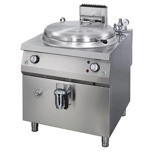 Maxima Heavy Duty Boiling Pan 60L - Gas - Indirect