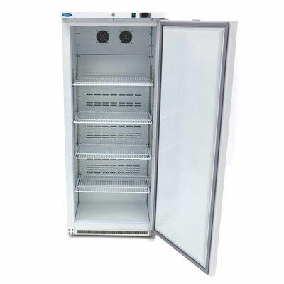 Maxima Kühlschrank R 600L Weiß