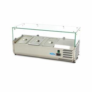 Maxima Vitrine Réfrigérée / Froide de Comptoir 95 cm - 1/3 GN