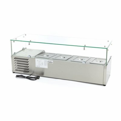 Maxima Countertop Refrigerated Display 120 cm - 1/3 GN