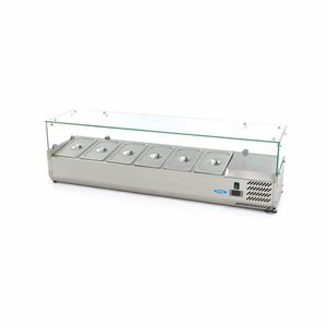 Maxima Countertop Refrigerated Display 150 cm - 1/3 GN