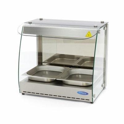 Maxima Hot Display - 1 Level - 2x 1/2 GN
