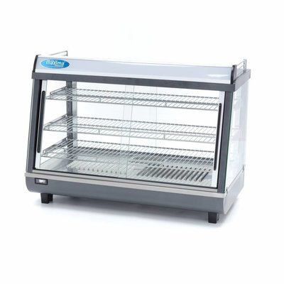 Maxima Stainless Steel Hot Display 136L