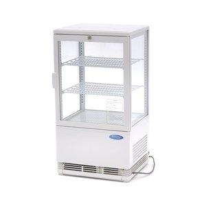 Maxima Vitrine réfrigérée 58L Blanc