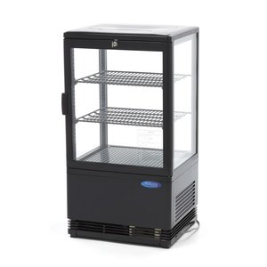 Maxima Refrigerated display 58L Black