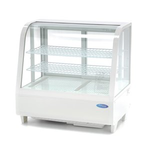 Maxima Refrigerated Showcase 100L White
