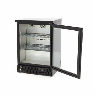 Maxima Deluxe Barkoeler / Displaykoeler / Flessenkoeler 1 Klapdeur