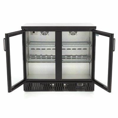 Maxima Deluxe Bar Kühlschrank / Flaschen Kühler BC 2