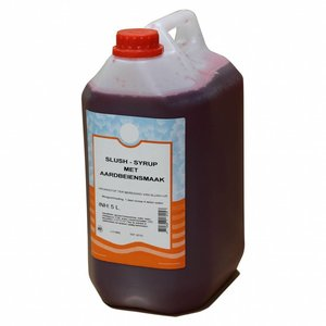 Maxima Slush Syrup Fraise 5L