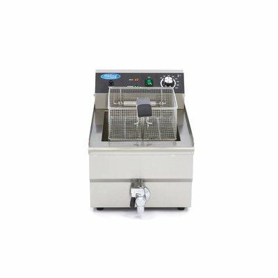 Maxima Elektrisch Fritteuse 1 x 16L mit Wasserhahn