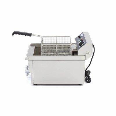 Maxima Elektrisch Fritteuse 1 x 16.0L mit Wasserhahn