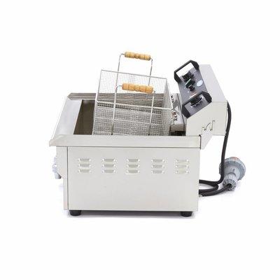 Maxima Horeca Friteuse / Frituurpan 1 x 30.0L Elektrisch met Tapkraan