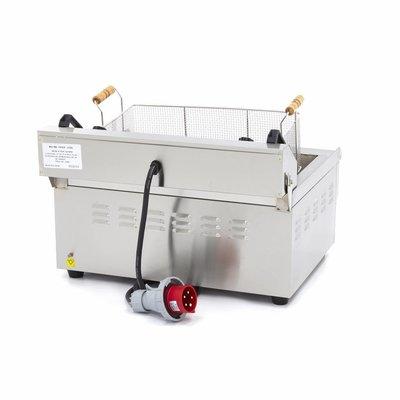 Maxima Bakkerij - Vis Friteuse / Horeca Frituurpan 1 x 30L Elektrisch met Tapkraan